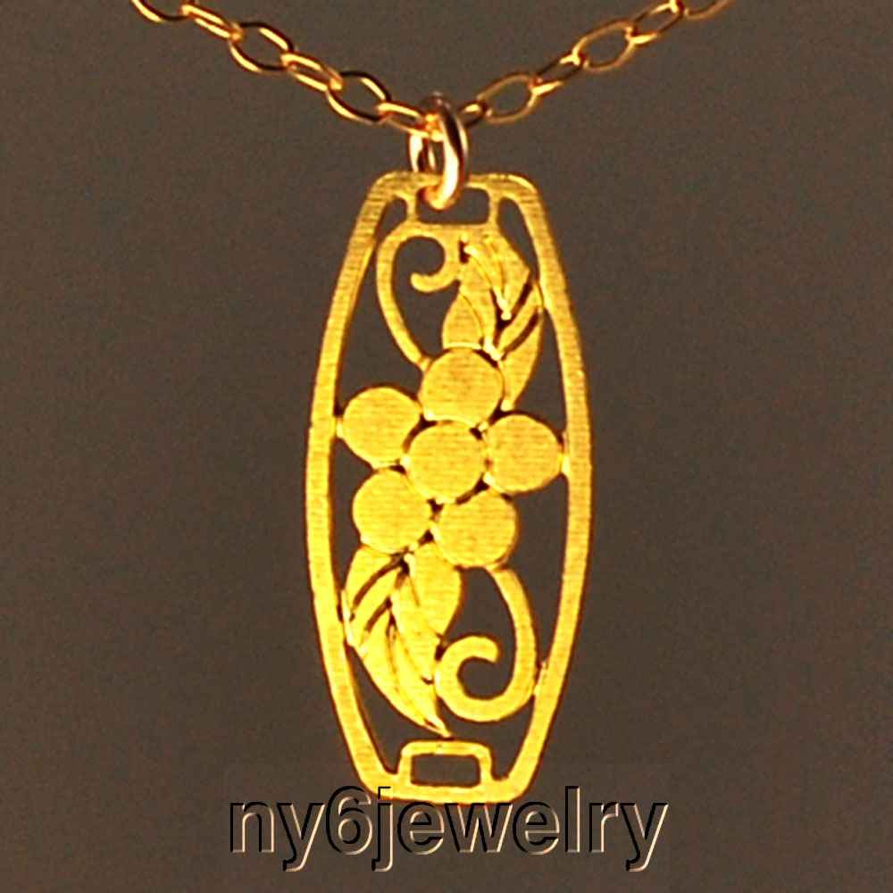 dainty gold filled chain clasp necklace with gold plated